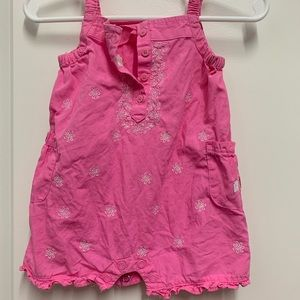 Carter's One Pieces - Carter's baby girl 3mo pink romper